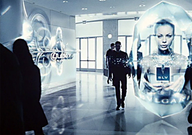 Minority Report was full of Disruptive Technology in the not too distant future...