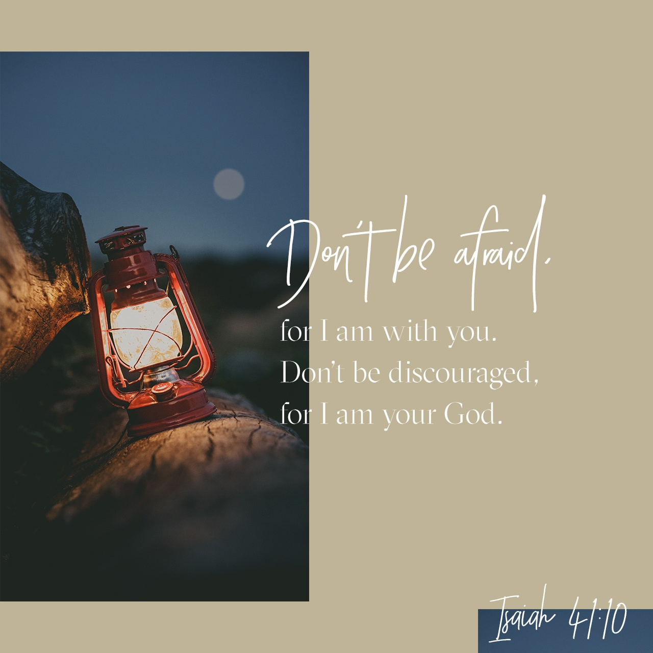 Black & White: Read - Isaiah 41:10