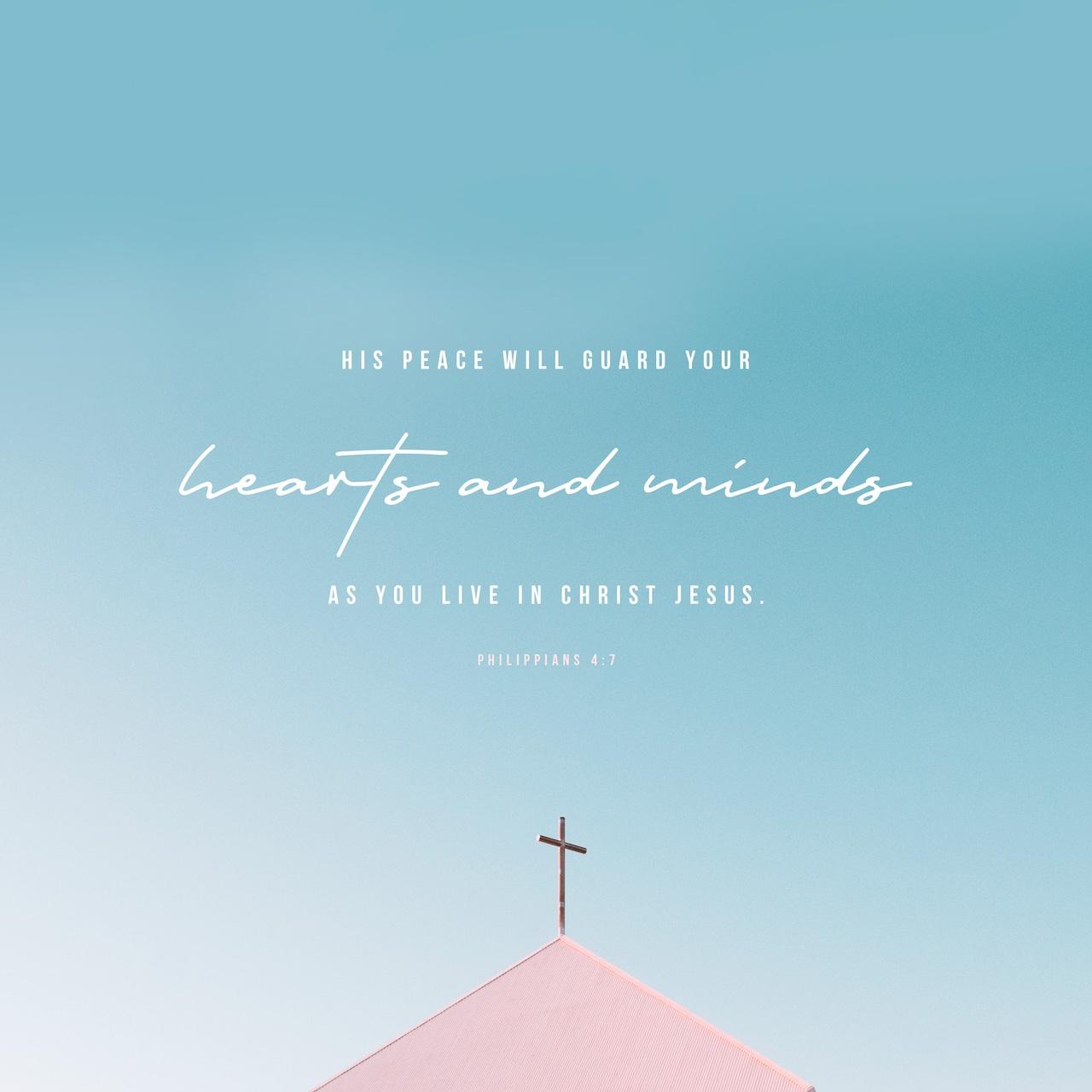 Black & White: Read - Philippians 4:7