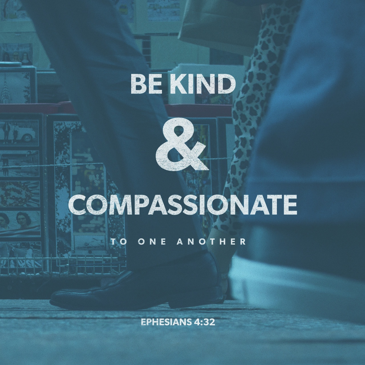 Black & White: Read - Ephesians 4:32