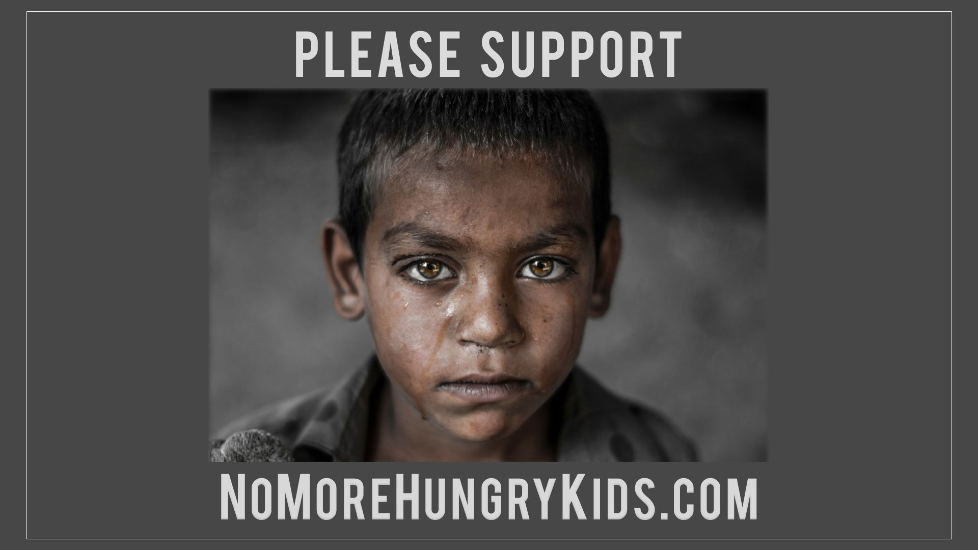 Please Support NoMoreHungryKids.com