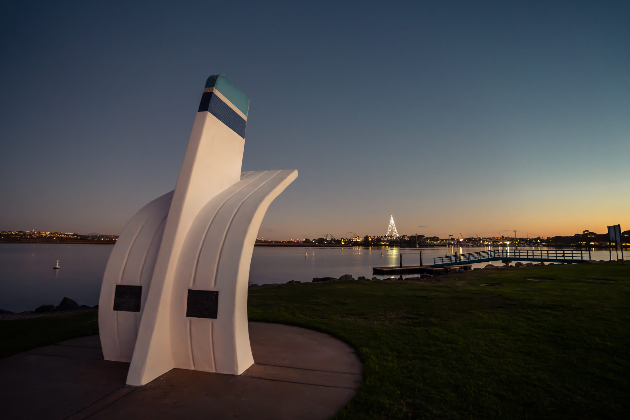 Bill Muncey Memorial and Mission Bay, San Diego