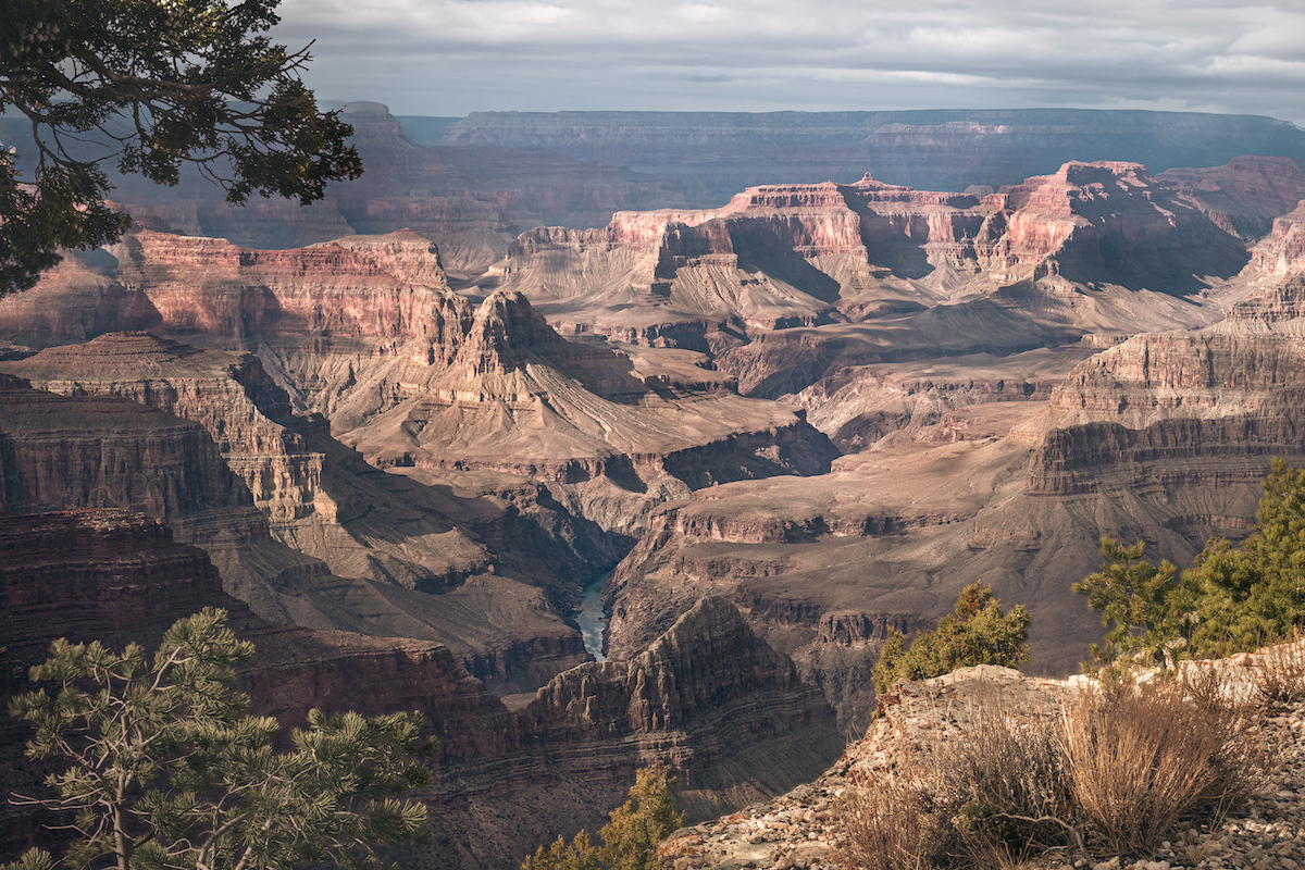 Grand Canyon in December 2020 - 15 HDR Images in One